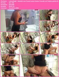 LatinaModel LatinaModel - Heimlich vom Freund meiner besten Freundin auf Toilette gefickt Thumbnail
